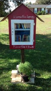 Little Library under the Oak