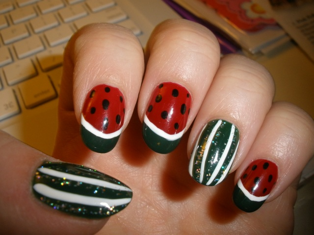 left hand watermelon