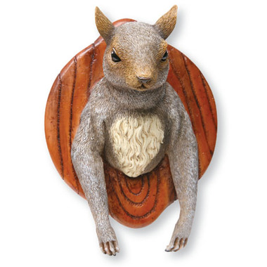 resin mounted squirrel