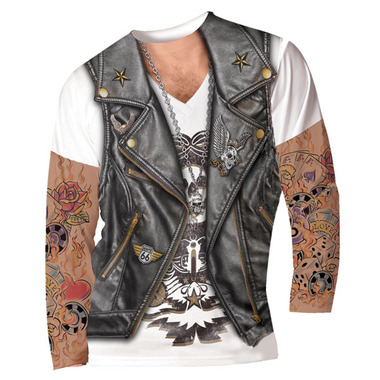 faux tattoo men's