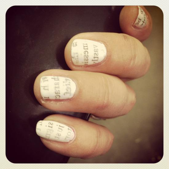 Literary Nails by Tui Snider