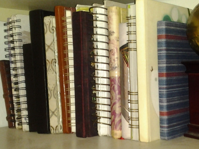 most of my old journals