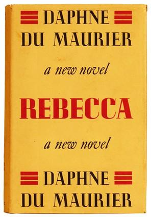 cover of the 1st edition of REBECCA