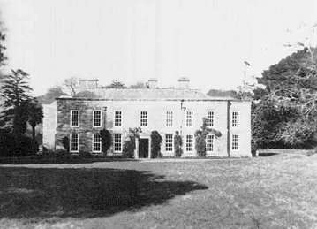 Menabilly House, Cornwall, the inspiration for 'Manderley'
