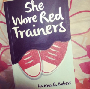 SHE WORE RED TRAINERS cover
