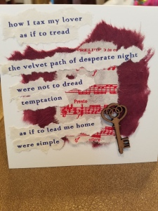 Poetry Art Card #13; text copyright Angélique Jamail, 2016