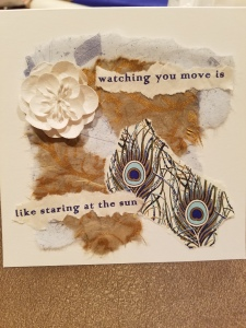 Poetry Art Card #10; text copyright Angélique Jamail, 2016