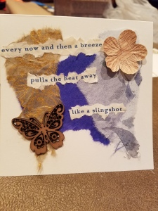 Poetry Art Card #3; text copyright Angélique Jamail, 2016