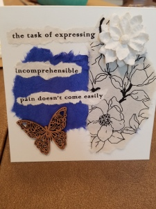 Poetry Art Card #7; text copyright Angélique Jamail, 2003