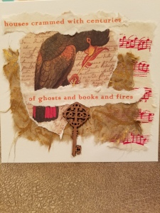 Poetry Art Card #9; text copyright Angélique Jamail, 2014