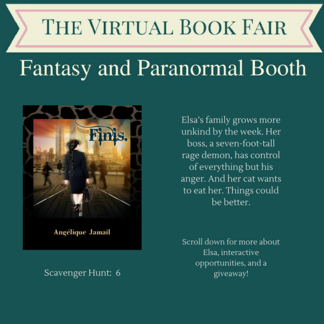 Virtual Book Fair booth