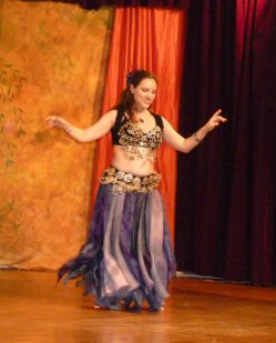 I'm half-Arab, so this is the dance form I've been around most of my life and which I enjoy the best.